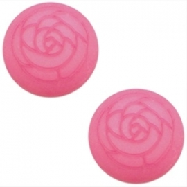 Polaris Cabochon Roos Rose Pink 12mm
