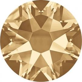 Swarovski 2088 platte steen Crystal Golden Shadow 7,1mm