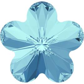 Swarovski 4744 Flower Aquamarine