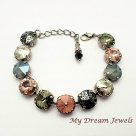 Armband Swarovski Blush Rose,Grey