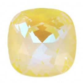 Swarovski 4470 Square Crystal Sunshine Delite 10x10mm