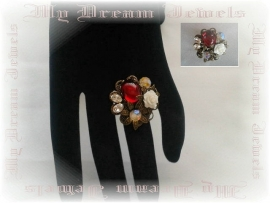 Ring Romantic Red