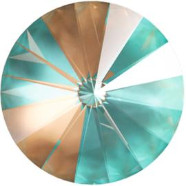 Swarovski 1122 Rivoli Crystal Cappuccino Delite 12mm