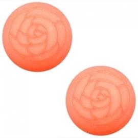 Polaris Cabochon Roos Rose Peach 12mm