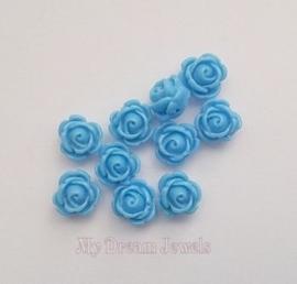 Roos Kraal Helder Blauw 9mm