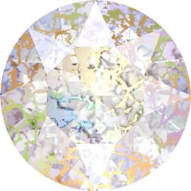 Swarovski 1088 puntsteen Crystal White Patina 6,1mm ( SS29 ) 2st