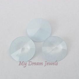 Swarovski 1122 Rivoli Crystal Powder Blue 12mm