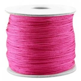Macramé Draad Hot Pink 0,7mm