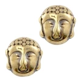 DQ Kraal Buddha Antiek Bronskleurig