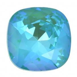 Swarovsk 4470 Square Crystal Laguna Delite 10x10mm