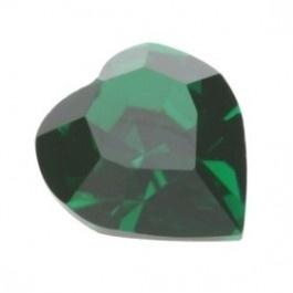 Swarovski 4800 Hart Emerald 6x6,6mm