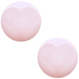 Polaris Cabochon Hart Soft Pink 12mm