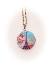 Medaillon Vintage Style Paris