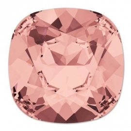Swarovski 4470 Square Blush Rose 10mm