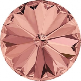 Swarovski 1122 Rivoli Blush Rose 12mm