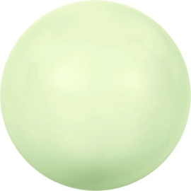 Swarovski 5810 Parel Crystal Pastel Green  8mm