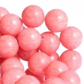 Jade Kraal Roze 6mm