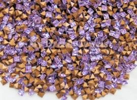 Swarovski 4401 Square Violet 4x4mm/ 5 st