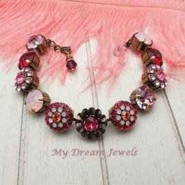 "Luxe Swarovski Armband  ""Fairy Love """