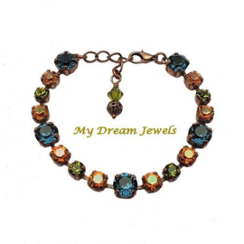 Armband Swarovski Copper Autumn