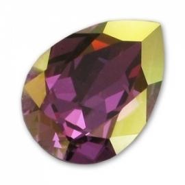 Swarovski 4320 druppel 14x10 mm Crystal Lilac Shadow