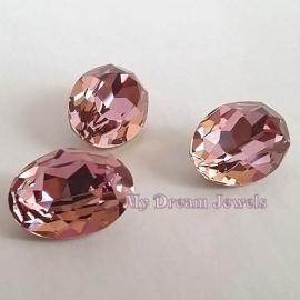 Swarovski 4120 Ovaal Crystal Antique Pink  18x13mm