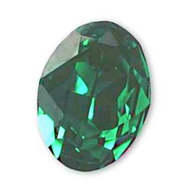 Swarovski 4120 Ovaal Emerald 14x10mm