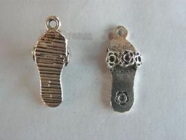 Bedel Antiek Zilverkleurig Slipper voor Swarovski puntstenen PP14 (2,0mm)