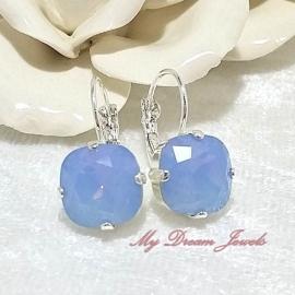 Swarovski Oorbellen Square Air Blue Opal