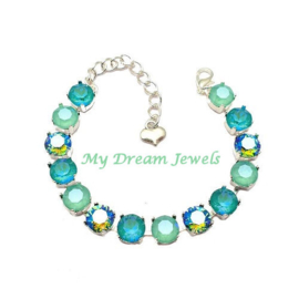 Armband Blue Lagoon ( Made to order )