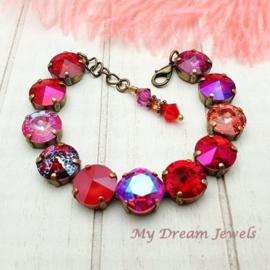Armband Shiny Berries met Swarovski Crystal