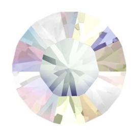 Swarovski puntsteen Crystal AB 4,0mm ( PP32 ) 4st