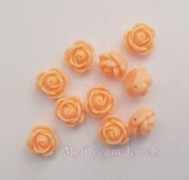 Roos Kraal Licht Oranje 9mm
