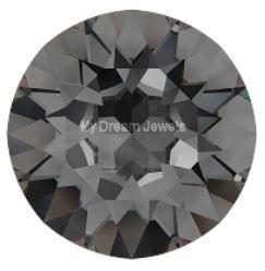 Swarovski 1088 puntsteen Crystal Silver Night SS24 ( 5,3mm )