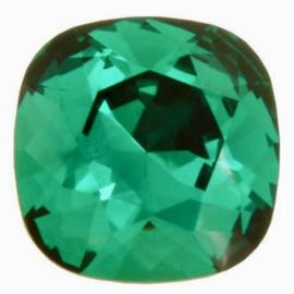 Swarovski 4470 Square Emerald 10x10mm