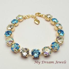 Armband Swarovski Crystal Twinkle Aqua