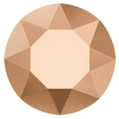 Swarovski 1088 Xirius puntsteen Crystal Rose Gold 2,0mm per 12 stuks