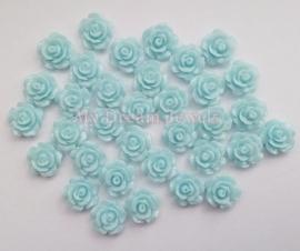 Roosje Licht Blauw 10mm