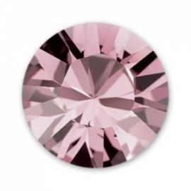 Swarovski 1028 Xilion puntsteen Crystal Antique Pink 2,0mm per 12 stuks