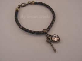 Leren Armband Bruin 2