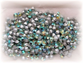 Swarovski puntsteen Chrysolite AB 5,3mm  ( SS24 )