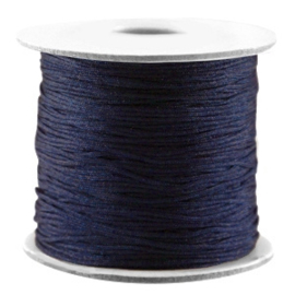 Macramé Draad Dark Blue 0,7mm