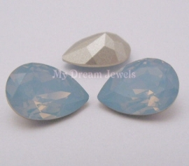 Swarovski 4320 druppel 14x10 mm Air Blue Opal