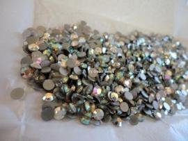 Swarovski 2012 platte steen Crystal Transmission 4,0mm per 12 stuks