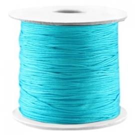 Macramé Draad Cyaan Blue 0,7mm