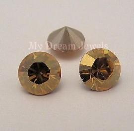 Swarovski puntsteen Crystal Golden Shine 8,2mm ( SS39 )