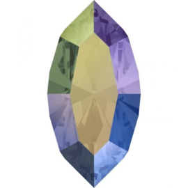 Swarovski 4228 Navette Crystal Paradise Shine 10x5mm
