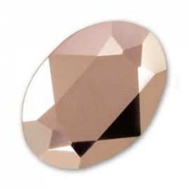 Swarovski 4120 Ovaal Crystal Rose Gold 8x6mm