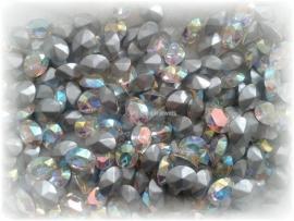 Swarovski 4130/2 Ovaal Crystal AB 8x6mm
