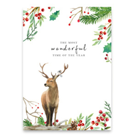 "Sieraden Wenskaart ""The most wonderful time of the year"""
